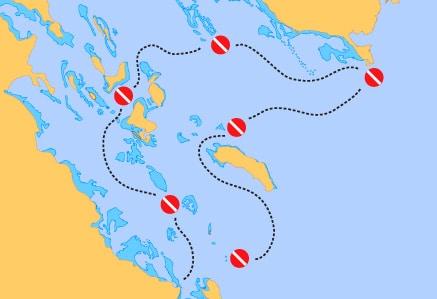 Rutas de buceo Mar Rojo