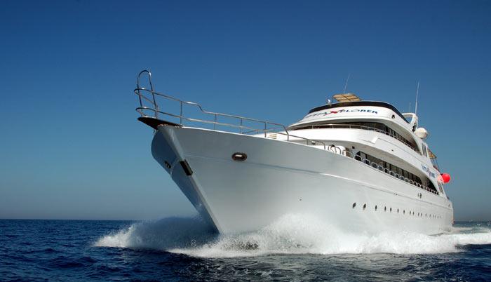 Vita Xplorer, Mar Rojo, Vida a bordo, RDS